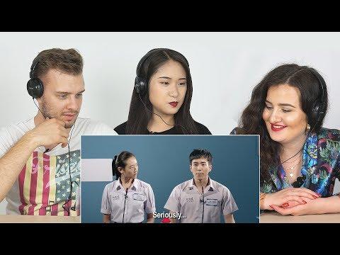 Foreigners React To 'Bad Genius' | Thai Movie Trailer
