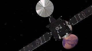 European probe set to touch down on Mars