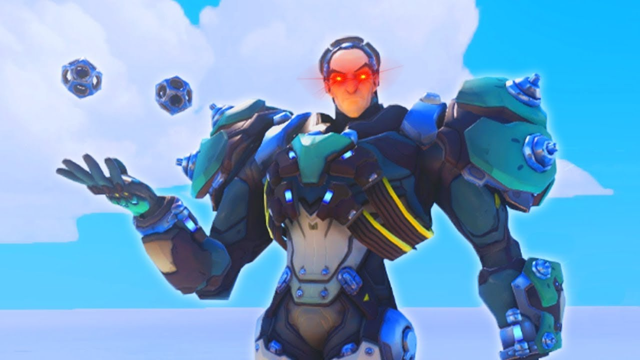 so we tried the NEW Overwatch hero Sigma... thumbnail
