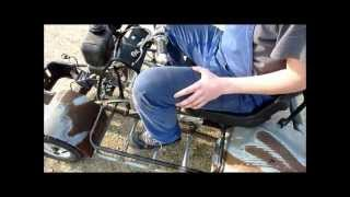 Gutbrod Rennrasenmäher mit 125ccm Lifan /Zongshen Motor