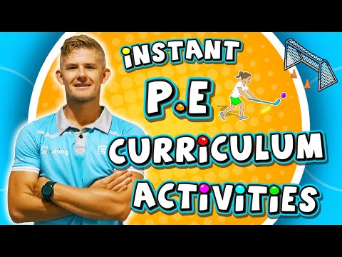 12 Instant PE Curriculum Activities - Great For Sport Games At Elementary