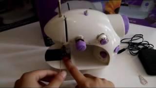 Tutorial Cara Penggunaan Mesin Jahit Mini Portable