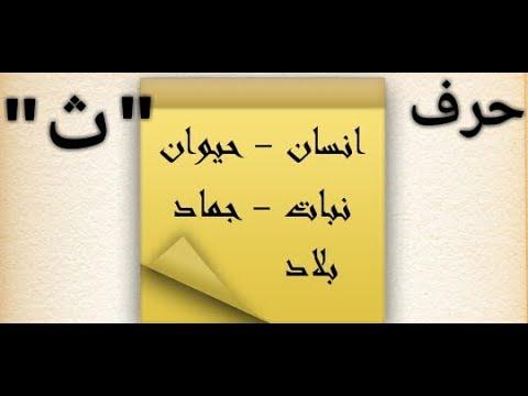حل لعبة إسم بنت ولد حيوان نبات بلد جماد حرف الثاء ث Youtube