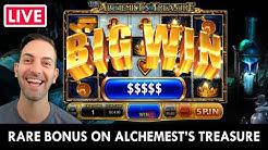 🔴💰 LIVE SLOTS! 🤑 RARE Alchemist's Treasure BONUS 👑 PlayChumba Social Casino  🎰  #AD