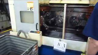 DAEWOO MODEL 250-2SP GL PARALLEL SPINDLE TWIN SPINDLE CNC CHUCKER (NEW 1999),  LOT 83