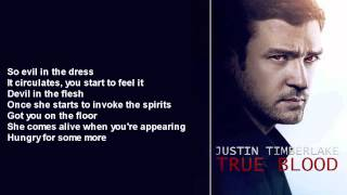 Justin Timberlake - True Blood HQ (Shorter Version / With Lyrics)