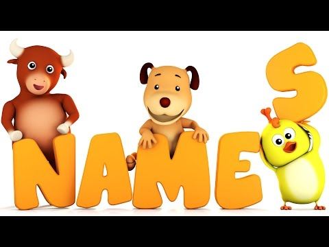 Learn Animal Names | Animal Song | 3d Kids Videos by Farmees