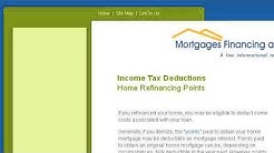 Can I Deduct Points From A Mortgage Refinance.