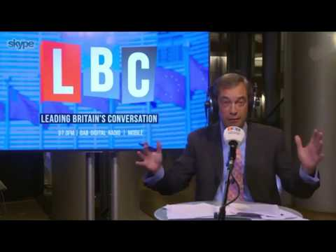 Nigel Farage Discusses Union Threat of Strike Action