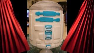 Star Wars Motivtorte R2d2 Teil Kuchen Torte Backen Dekorieren Mit Fondant