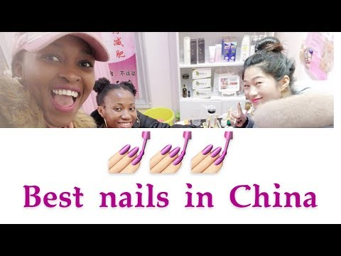 Best Nails In China || Asian Nails || Black In China