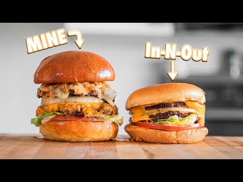 Making In-N-Out Burgers At Home   But Better