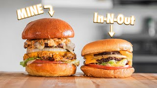 Making InNOut Burgers At Home | But Better