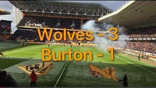 Wolves 3 Burton 1| My Match Highlights| (17/03/18)|