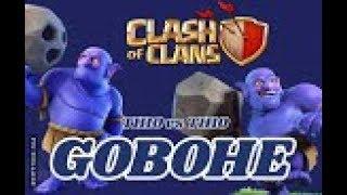 GOBOHE GOLEM BOWLER HEILER CK/CW RH10/TH10 vs. TH10 | 3 Sterne | COC | Clash of Clans DEUTSCH/GERMAN