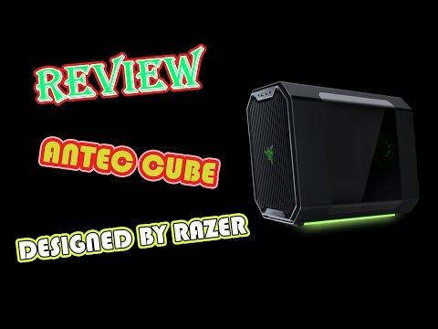 เคสเล็ก สเปกเทพ Antec Cub Designed by Razer ยัดการ์ดจอตัวใหญ่ ใส่บอร์ด ITX