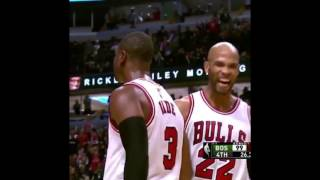 Dwyane Wade Makes Clutch Shot In His Debut With Chicago Bulls Vs Boston Celtics | October 26,2016 |