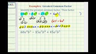 Ex 2:  Identify GCF and Factor a Trinomial