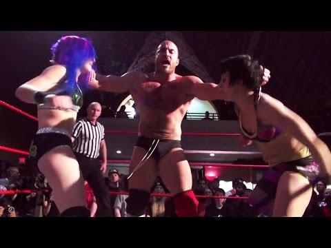 Kimber Lee & Heidi Lovelace vs. Chris Dickinson & Sami Callihan - Beyond Wrestling (Intergender)