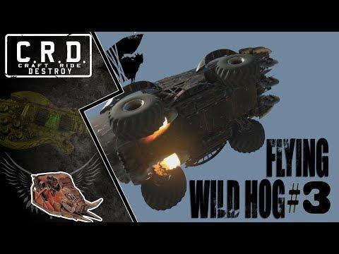 Crossout: [ Tusk & Rocket booster x6 ] FLYING WILD HOG #3 [ver. 0.9.55]