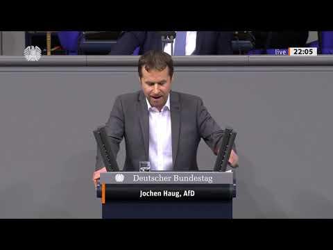 Jochen Haug zur Änderung des Bundeswahlgesetzes - AfD-Fraktion im Bundestag