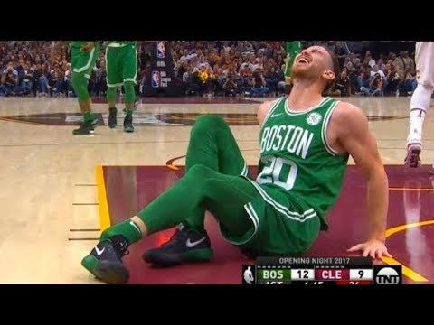 Gordon Hayward Breaks His Leg (Scary Injury)