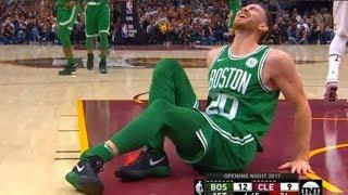 Gordon Hayward Injury Update   Celtics vs Cavaliers   Oct 17, 2017   2017-18 NBA Season