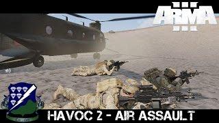Havoc 2 Air Assault - ArmA 3 Co-op Gameplay