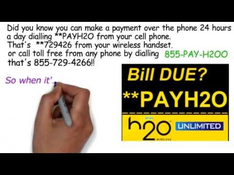 Pay H2O WIRELESS by Phone - Dial **PAYH2O