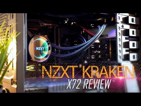 افضل مبرد مائي مغلق في العالم - NZXT x72 Review