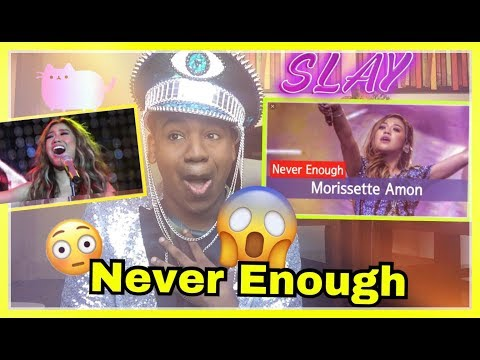 Morissette-Never Enough REACTION! (Standing Ovation) mothers day concert