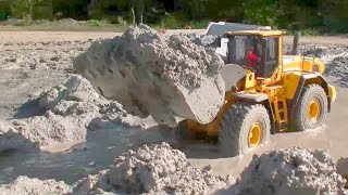 HEAVY RC LOADER VOLVO L250G!  THE MUD CONSTRUCTION SITE! SO HEAVY!!!