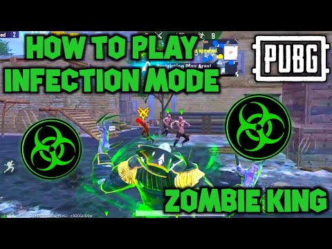 PUBG MOBILE! HOW TO PLAY NEW ZOMBIE INFECTION MODE & HOW TO BECOME ZOMBIE KING