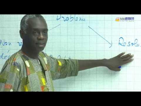 TELE ECOLE : L'Intelligence Artificielle : d'hier à aujourd'hui Part 1. Prof Mamadou Mboup