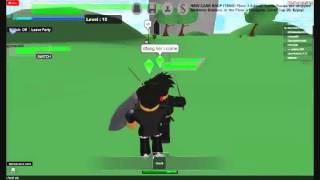MrCaleb565's ROBLOX SAO video