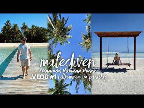 Download Malediven Vlog #1: Urlaub auf Cinnamon Hakuraa Huraa - Willkommen im Paradies