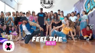 Black Eyed Peas, Maluma - FEEL THE BEAT (Choreography Video)