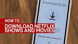 Download Netflix shows and movies on your phone or tablet