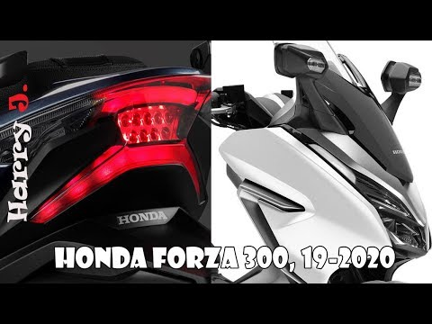 Honda Forza 300 maxi scooter 19-2020
