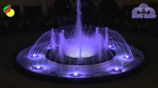 Musical Fountain in Nules (Valencia)