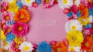 Download lagu CHECKLIST (Lyric Video) Megan Nicole