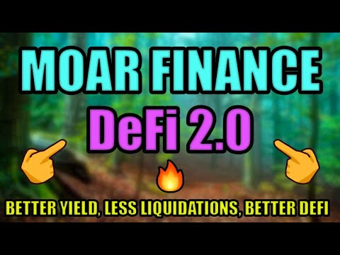 MOAR FINANCE: A BETTER DEFI LENDING PROTOCOL | AAVE, COMP, NEXO COMPETITOR