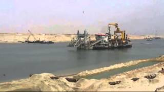 New Suez Canal: a scene in the dredging June 20, 2015