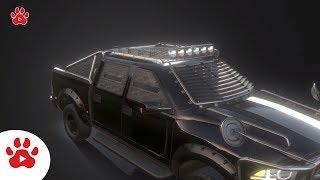 Ford F1 Jaguar Hatchback Honda Jeep Wagoneer | Super Cars for Kids | #h Colour Song for Kids