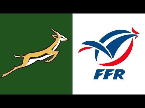 Rugby Test Match - Springboks Vs France 3 July 1993