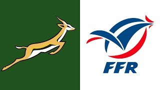 Rugby Test Match - Springboks vs France 3 July 1993
