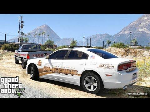 GTA 5 MODS LSPDFR 947  - SHERIFF PATROL!!! (GTA 5 REAL LIFE PC MOD)