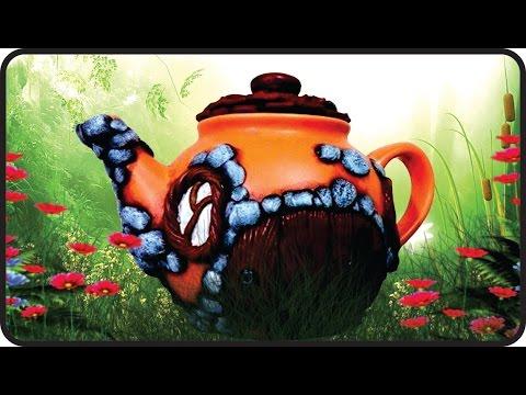 ❣DIY Fairy Garden Teapot House - Polymer Clay Tutorial❣