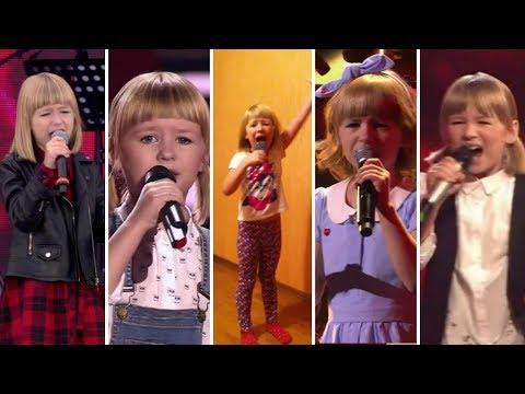 видео: Ярослава Дегтярёва | 11 исполнений Кукушки | 2016-2018