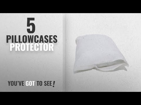 Top 10 Pillowcases Protector [2018]: Allersoft 100% Cotton Bed Bug, Dust Mite & Allergy Control